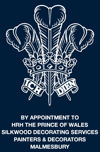 Silkwood Decorating Royal Warrant logo, HRH The Prince of Wales